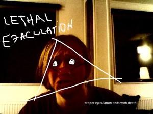lethal ejaculation - proper ejaculation ends with death - cover